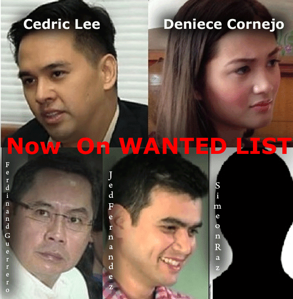 Cedric Lee and Deniese Cornejo are Now Fugitives (Wanted)