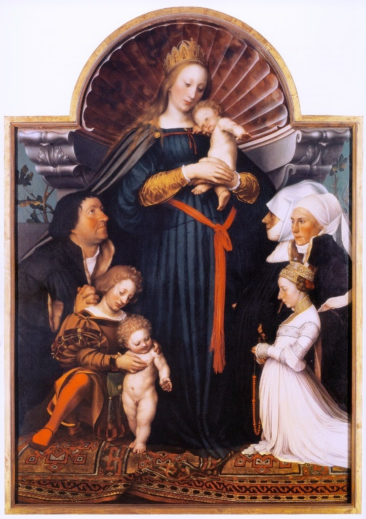 Hans Holbein the Younger Darmstadt Madonna