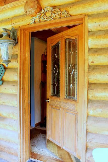Rustic Log Cabin Doors