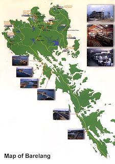 Peta Barelang, Batam Kepulauan Riau