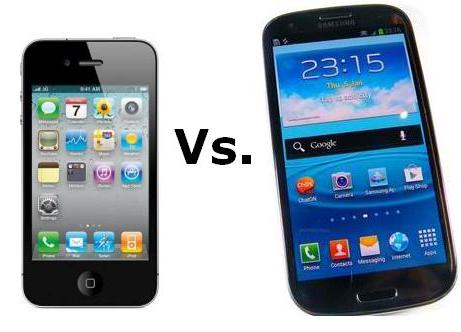 iPhone 4S VS Samsung Galaxy S3 Feature Comparison