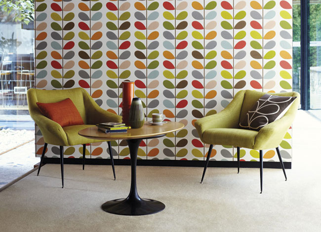 Internationally Renowned Designer Orla Kiely, Who Designed The Immediately  Recognisable U0027stemu0027 Motif, Has Joined Forces With Harlequin To Create A  Striking ...