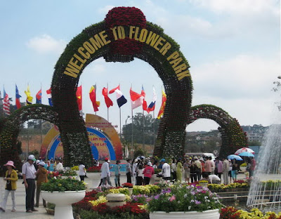 Da Lat Flower Festival - the city of flowers