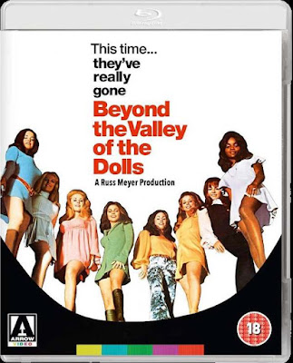 Beyond the Valley of the Dolls Blu-ray cover