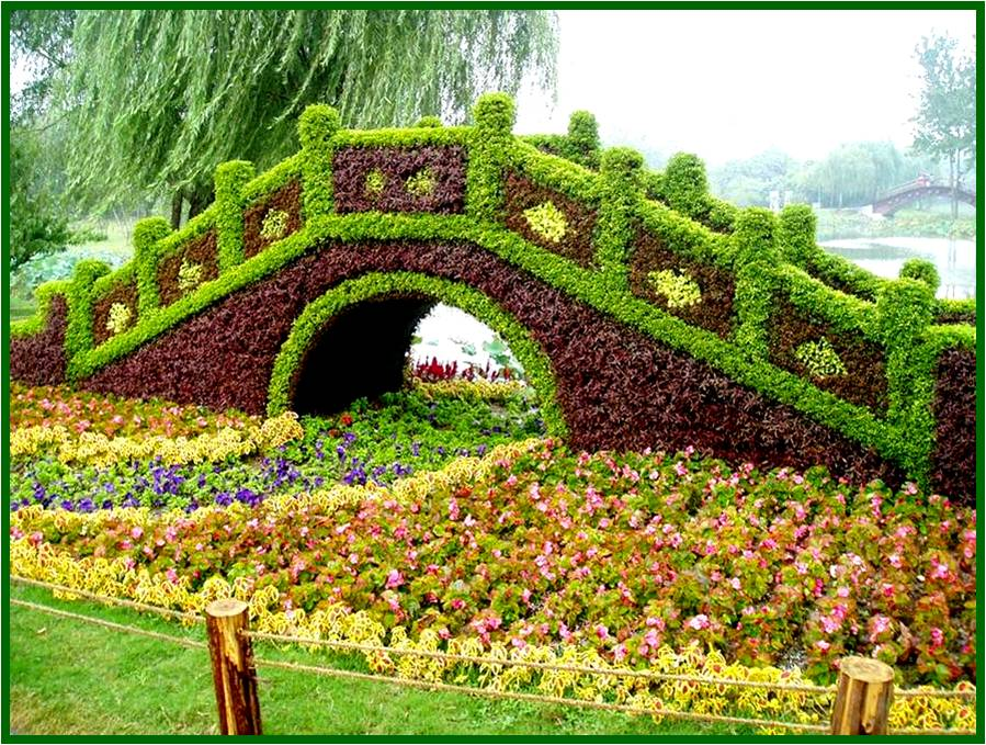 Best wallpapers topiary gardens chinese plant sculpture for Decoration jardin chinois