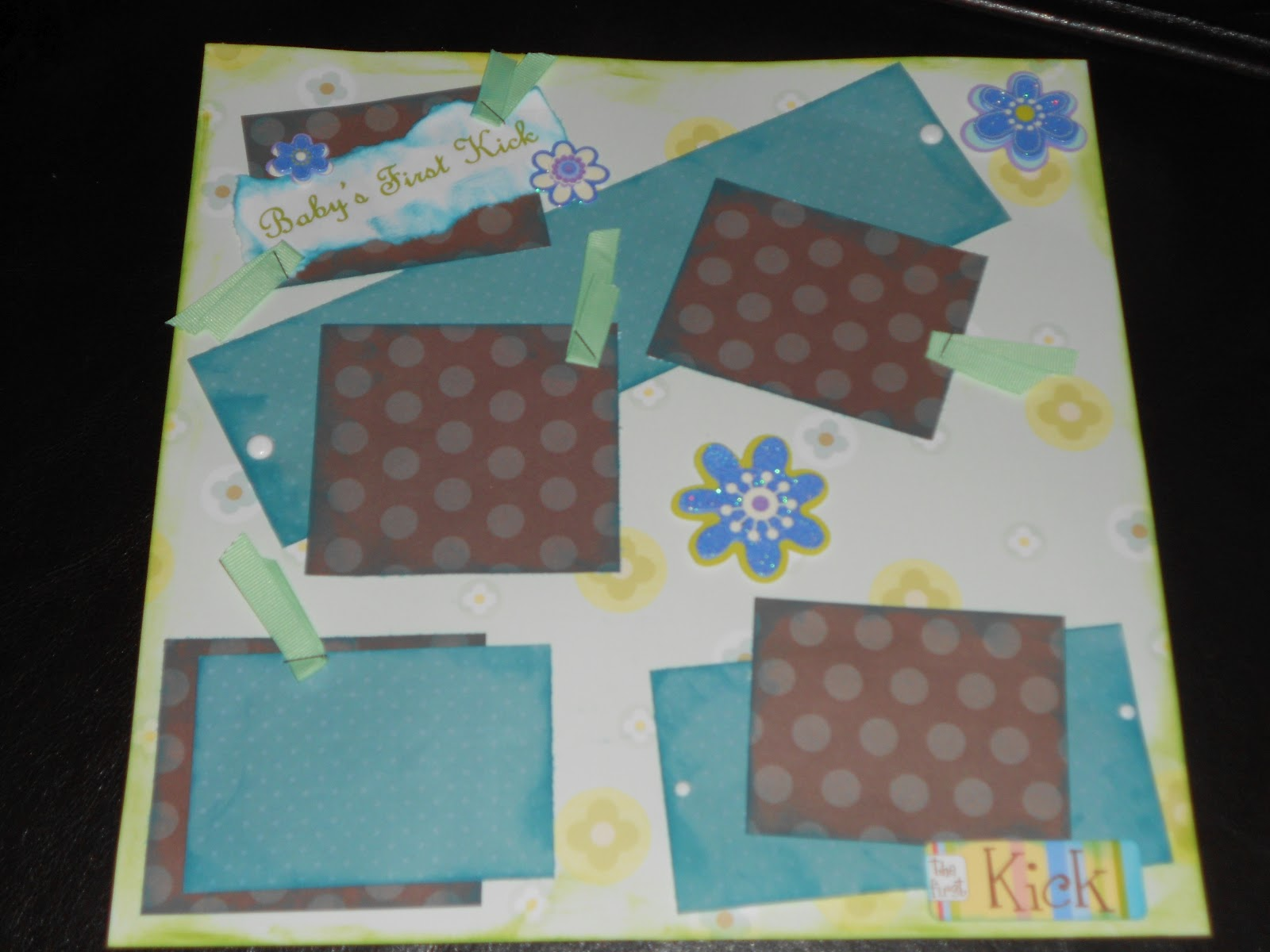 Pregnancy scrapbook ideas layouts