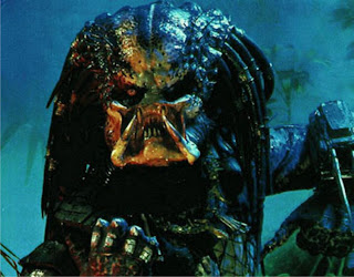 Image of the alien creature from the 80's movie - Predator