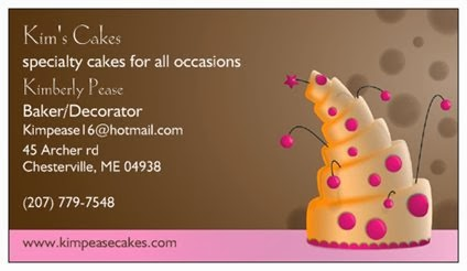 Want an amazing cake?!  Talk to this woman!!