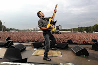 Bruce Springsteen &#038; the E Street Band en Sevilla, actuacin el 13 de mayo de 2012 en el estadio Olmpico de la Cartuja