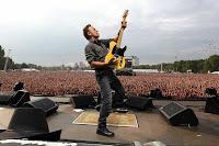 Bruce Springsteen & the E Street Band en Sevilla, actuación el 13 de mayo de 2012 en el estadio Olímpico de la Cartuja