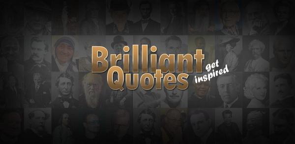 Brilliant Quotes Android Brilliant Quotes Widget