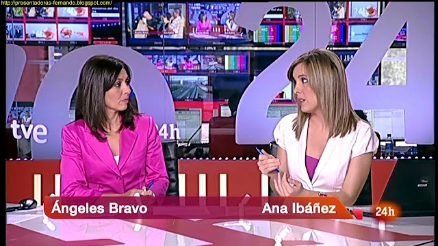 Ana Ibañez Llorente y Angeles Bravo 24h Noticias
