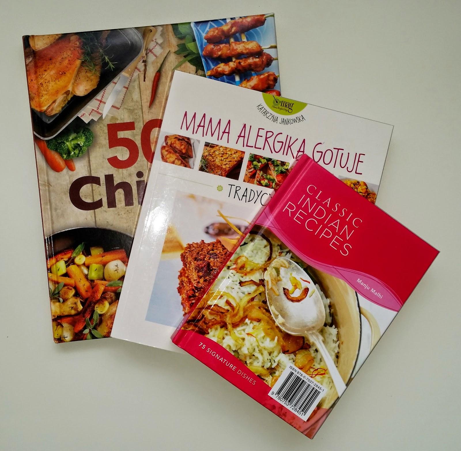 książki, przepisy kulinarne, gotowanie