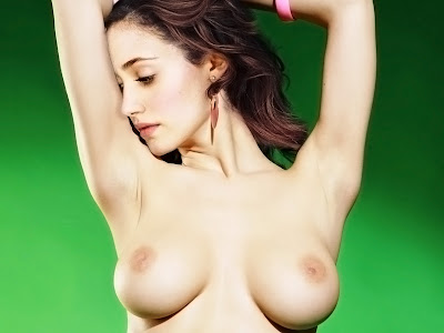 Emmy Rossum nude spread legs naked trimmed pussy