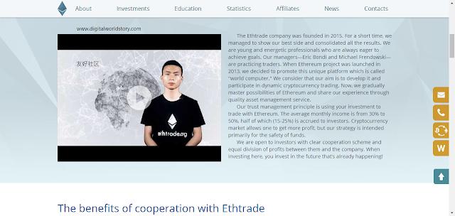 Hyip monitor ethtrade.org