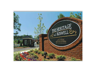 The Heritage At Roswell Entrance