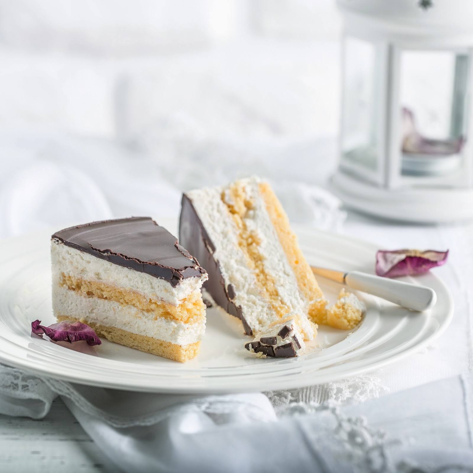Торт-суфле птичье молоко пошагово