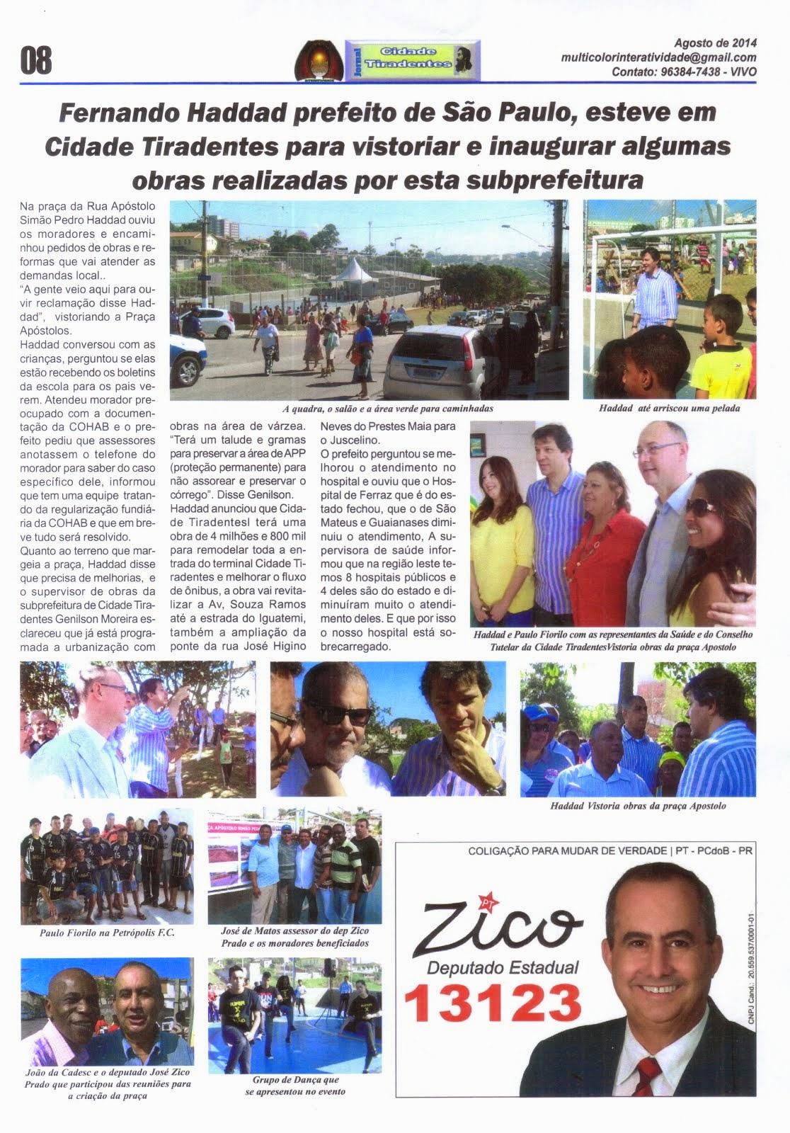 Jornal Cidade Tiradentes