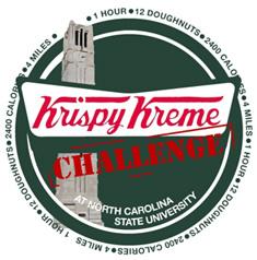 Krispy Kreme Challenge Fundraiser