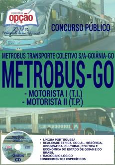 Apostilas Concurso Metrobus 2016 (ATUALIZADA)
