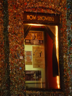 Seattle Theatresports Gum Wall