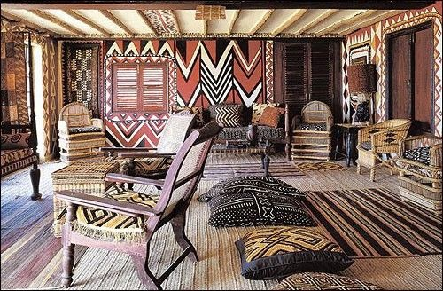 Fiorito Interior Design Three Patterns Of Africa Kuba