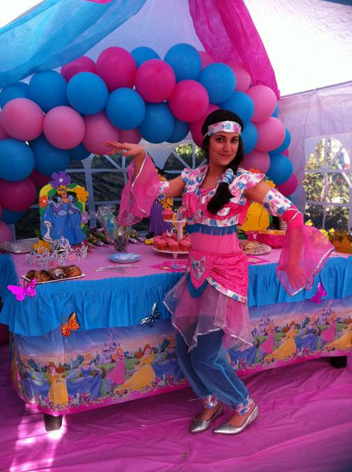 animacion niños boda princesa yasmin