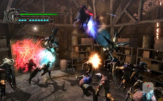 Gameplay Devil May Cry 4