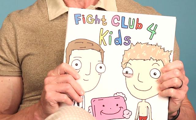 Fight Club 4 Kids - Chuck Palahniuk liest eine fast kinderfreundliche Version seines Romans vor | Roman Vorlesung