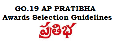 GO.19 AP PRATIBHA Awards Selection Guidelines -SSC 10th PRATIBHA AWARDS Norms
