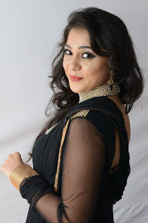 Actress Krathi Picture Gallery in Black Salwar Kameez at Bunny n Cherry Audio Launch Function  0045