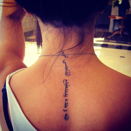 Spine Tattoo Tattoo Designs Tattoos For Girls