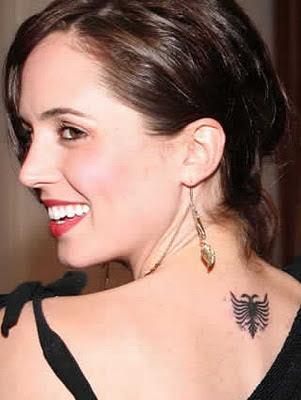 Eliza Dushku Tattoos