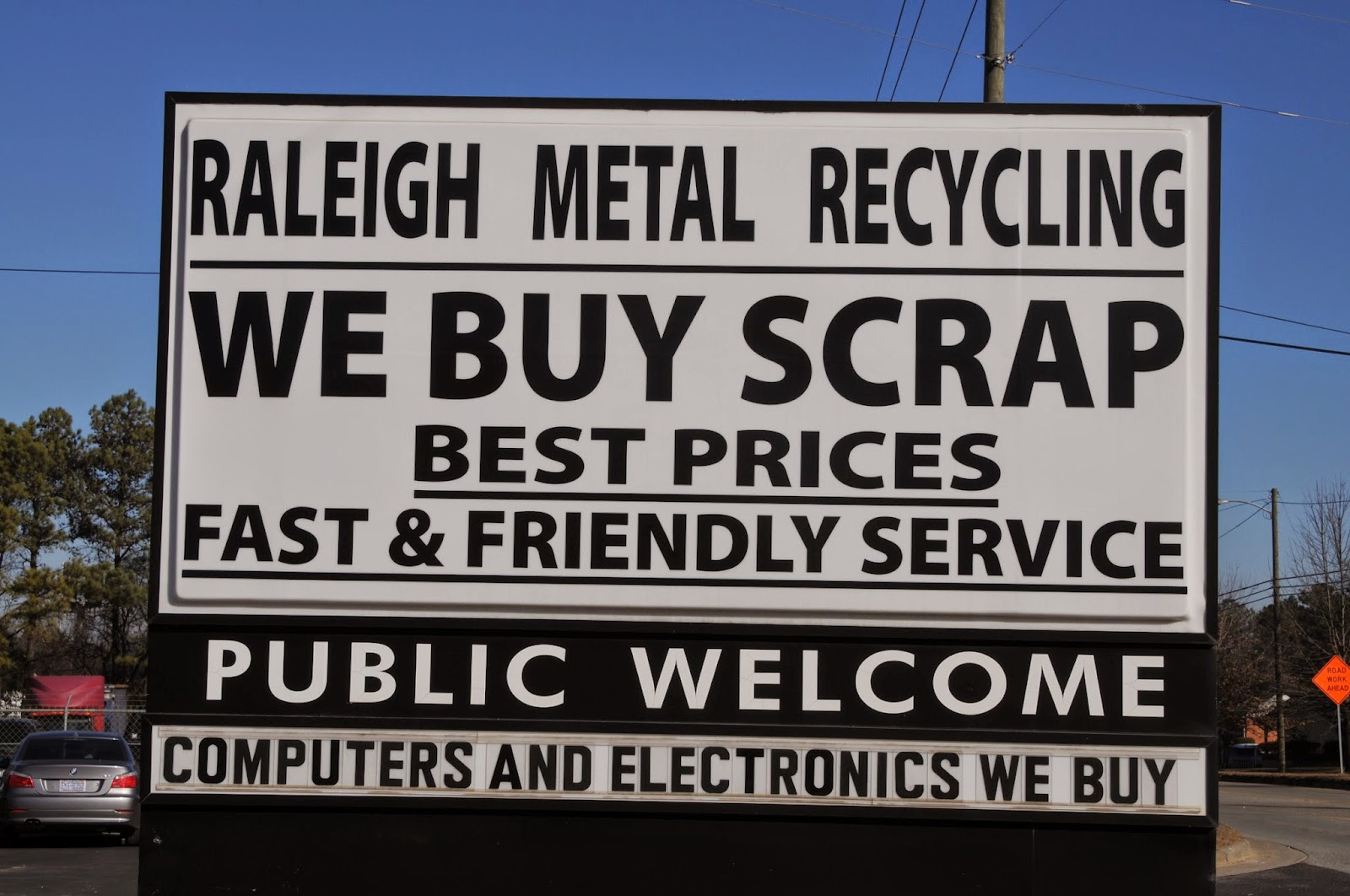 Scrap Metal, Raleigh, NC, Recycling, Junk Cars, Yards, Copper ...