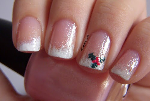 Christmas Nail Art Designs Fashions Feel Tips And Body Care