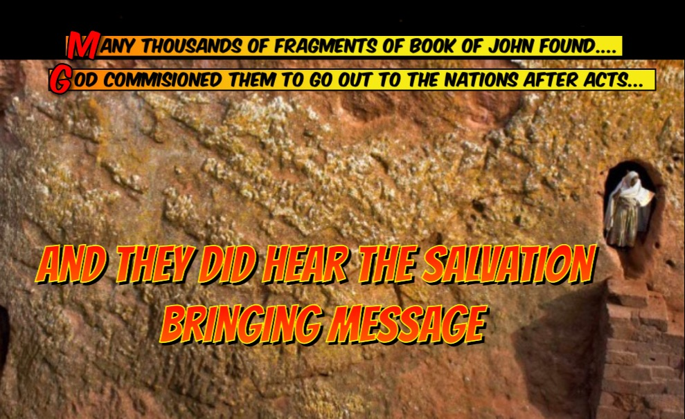 Salvation Bringing Messeage Sent Out To Nations