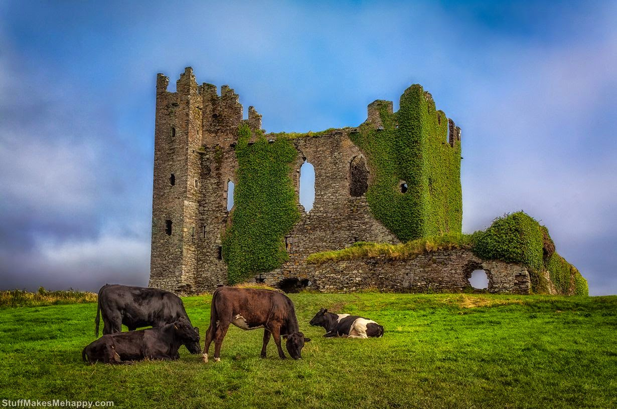 Ballycarbery Castle - Photo by Cord Cardinal