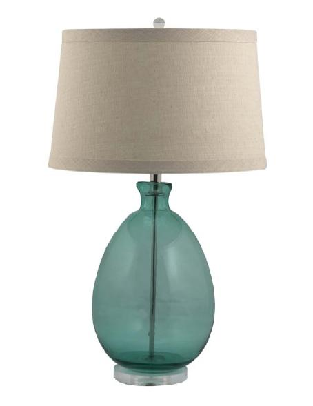 Style Key West: Sea Glass Inspired Lamps