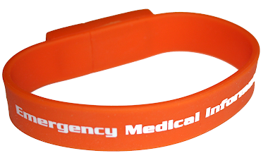 Smart Emergency Medical ID Bracelet