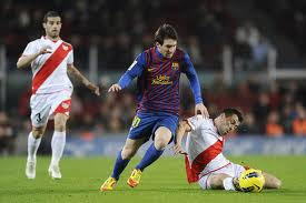 Hasil Pertandingan Rayo Valleceno vs Barcelona 30 April 2012