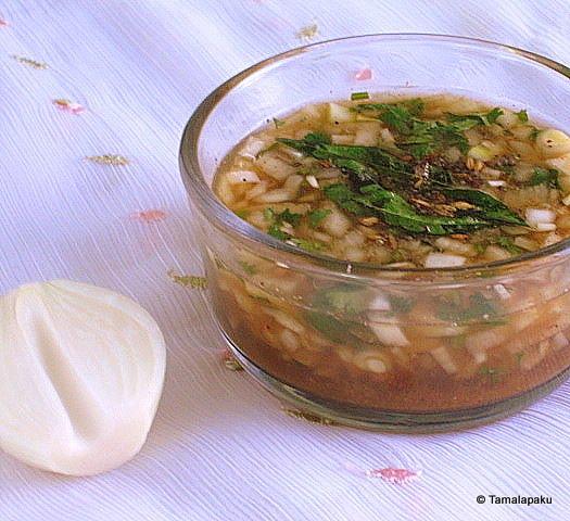 Onion Rasam