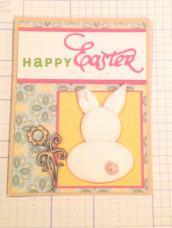 easter, card, bunny