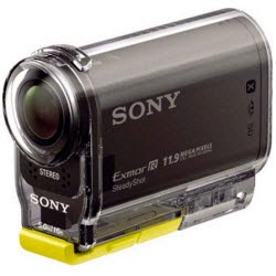 Flipkart: Buy Sony HDR-AS30V Full HD Video Camera plus 8GB Card plus Case at Rs. 21741