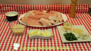 Receta de pollo al hrono crujiente