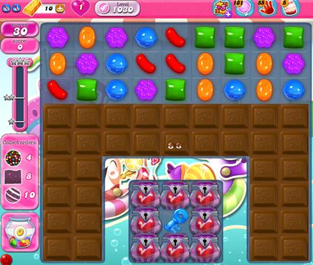 Candy Crush Saga 1030