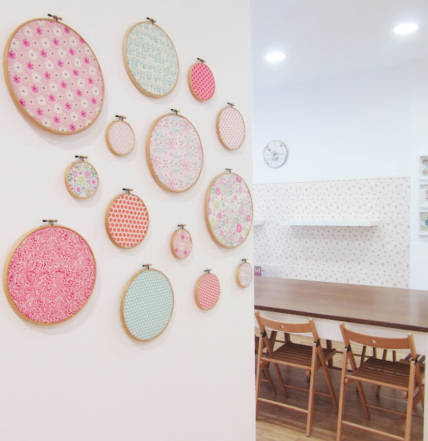 Cosiendolunares   costura y patchwork: decoración con bastidores