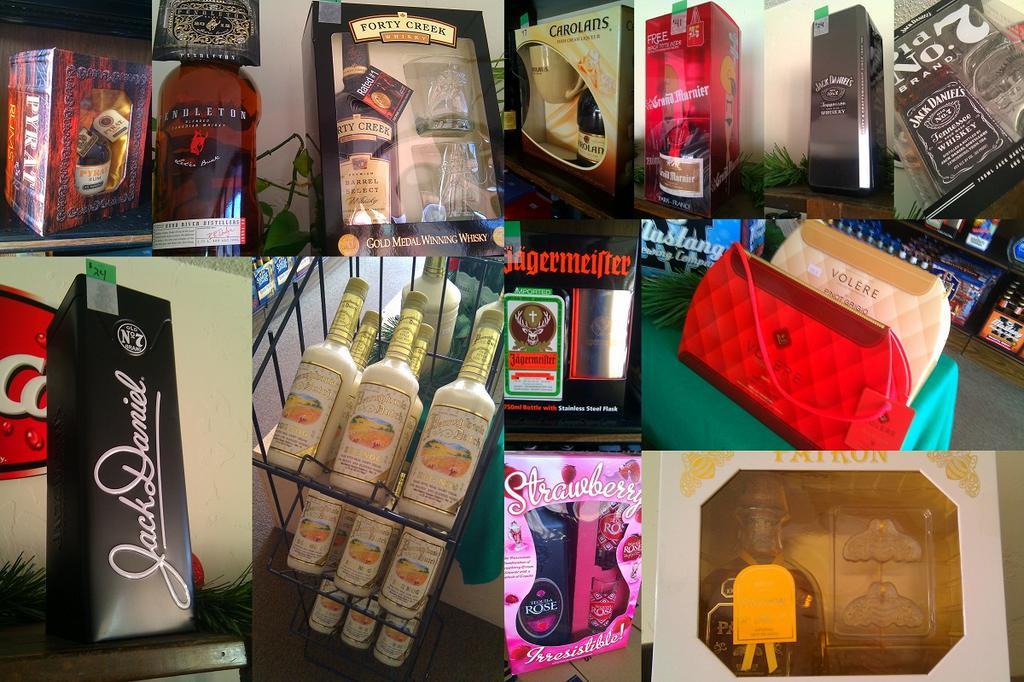 Allen s retail liquor store gift sets