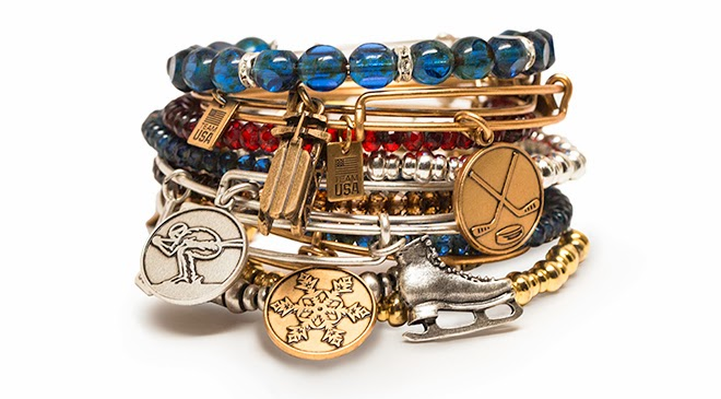 Alex and Ani Team USA Winter Bangle Collection