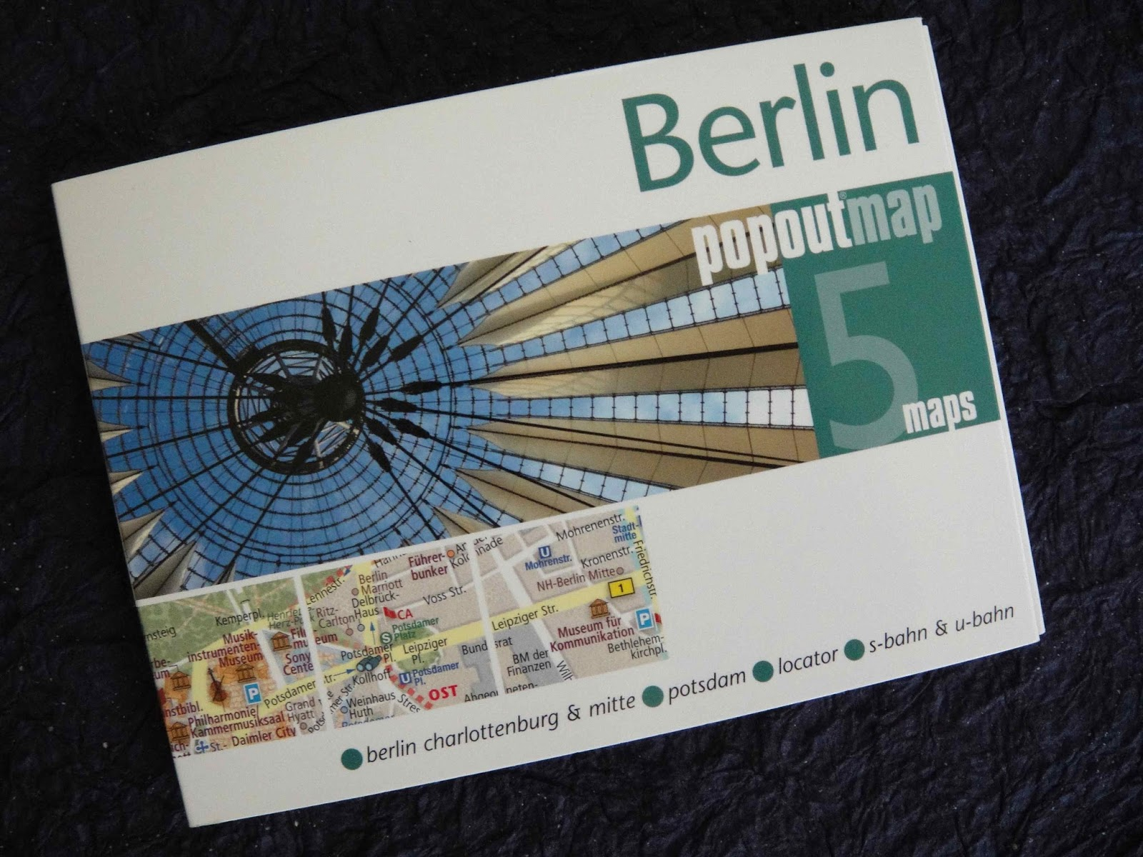 Berlin Popoutmap Compass Maps Ltd UK 2013