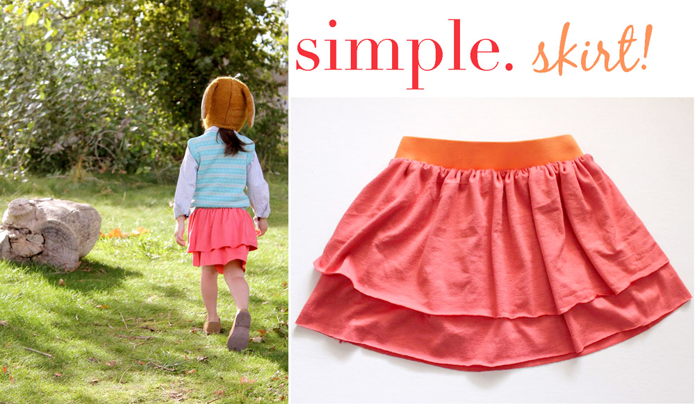 Simple Projects Week Layered Skirt